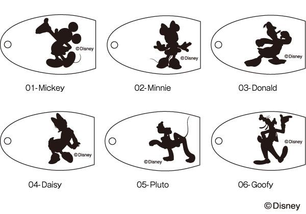 木の種類、ディズニーキャラクターをお選び頂けます。