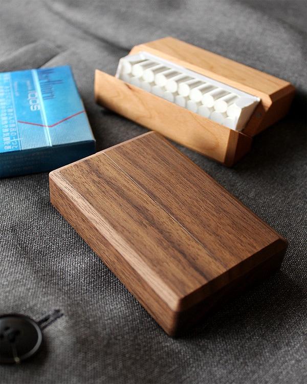 電子タバコ アイコス用ヒートスティック専用木製ケース「IQOS HeatSticks Case BOX-IN」