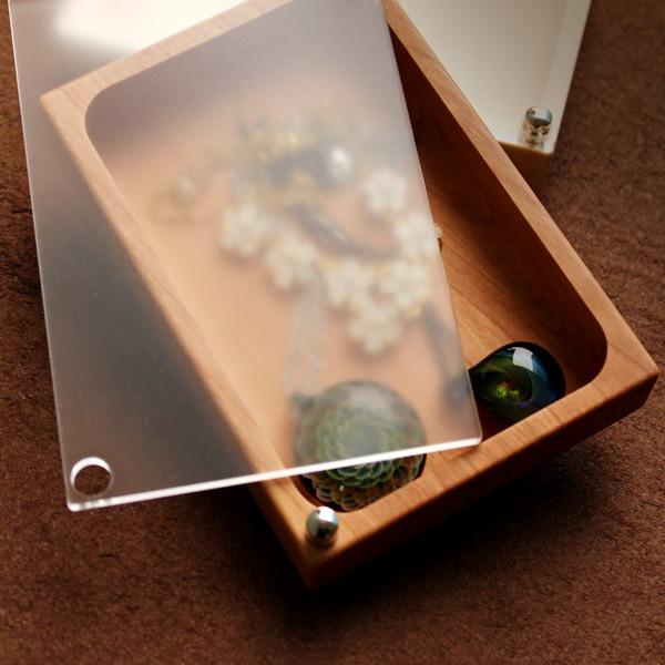 木の美しいジュエリーボックス・アクセサリーケース「Jewelry Case フリータイプ」