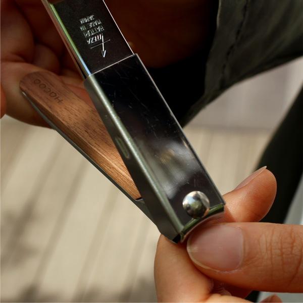 刃物の産地、岐阜県関市の熟練した職人が1本1本手作業で製作しています。
