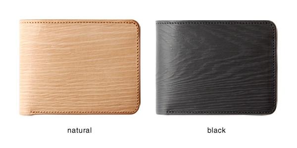 植物タンニンなめしを施したステアハイド。ナチュラルとブラックの2色をご用意。