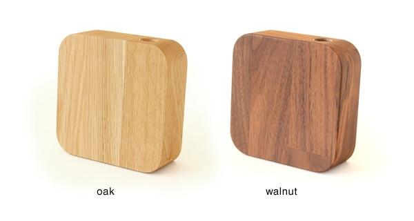 集成材の表情がおしゃれな、木製一輪挿し・花器