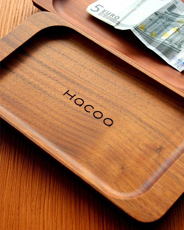 重厚感漂う木製キャッシュトレイ・コイントレー