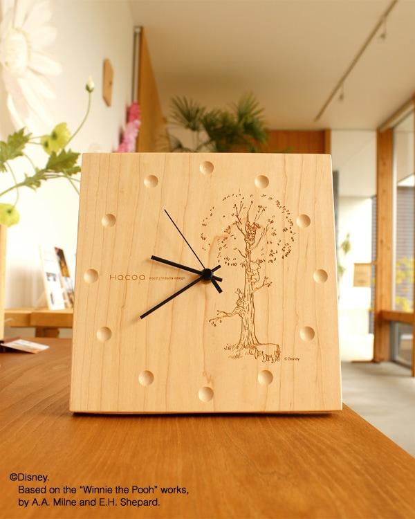 ディズニーキャラクターと一緒、時と共に風合いを増す壁掛け・置き時計