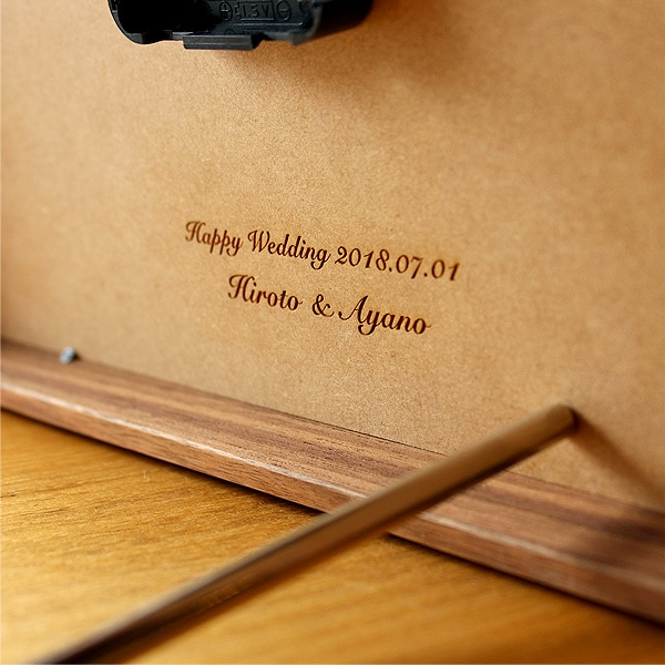 結婚式・ブライダル・両親へのプレゼントに世界にひとつだけのオリジナル名入れギフトづくりをお手伝い致します
