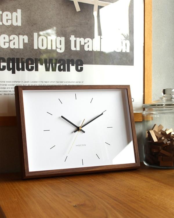 天然木の風合いを楽しめるおしゃれでシンプルな木製時計