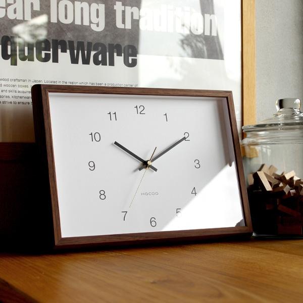 天然木の風合いを楽しめるおしゃれでシンプルデザインの壁掛け・置時計