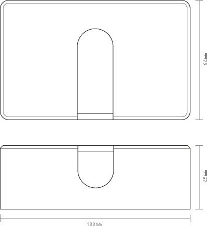 木製ポケットティッシュケースの詳細