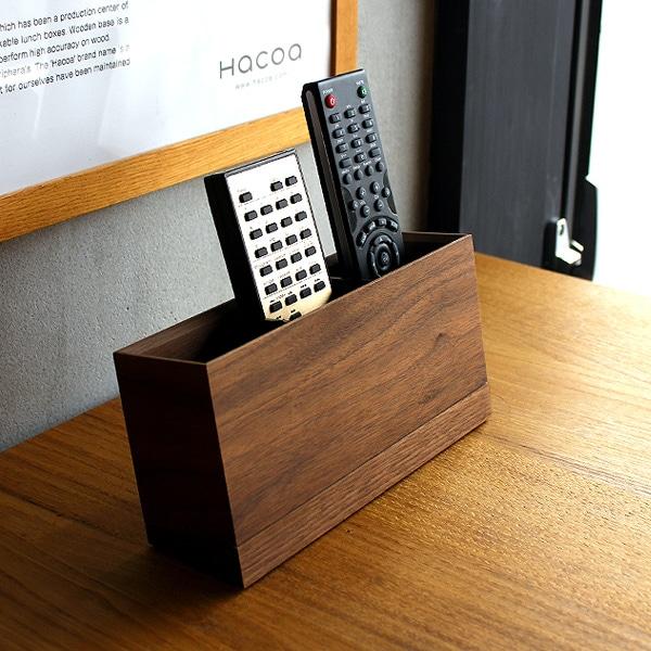 おしゃれな木製リモコンラック・スタンド