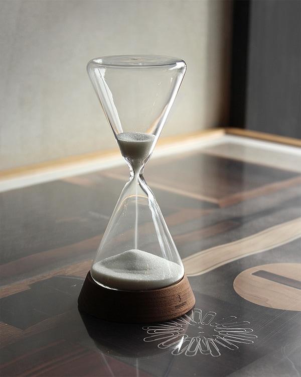贅沢な時間に癒されるおしゃれな砂時計「Sand Timer 3minutes」