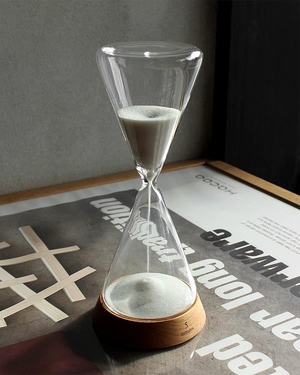 贅沢な時間に癒されるおしゃれな砂時計「Sand Timer 5minutes」