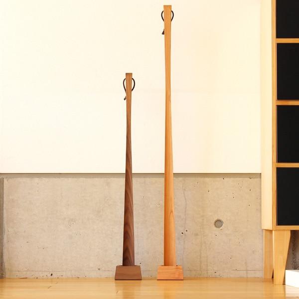 Sとロング、選べる2サイズの木製靴べら