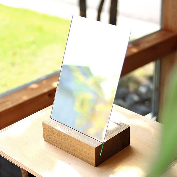 大きいサイズの木製スタンドミラー「Stand Mirror」はこちら。