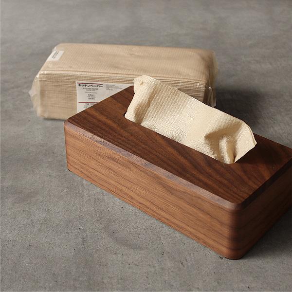 サイズが合えば、ティッシュだけではなくキッチンペーパーやペーパータオルにもご利用いただけます。