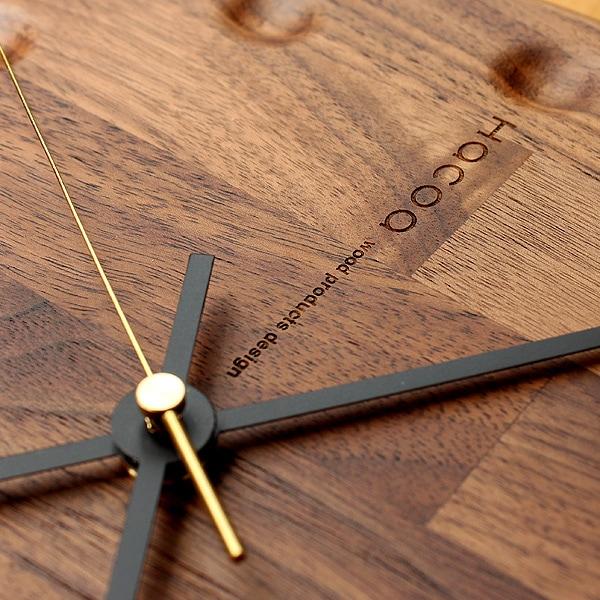 時を刻むごとにあなただけの表情に成長する木製時計