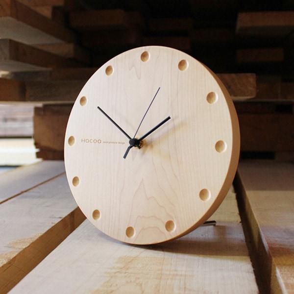 周年記念など大きな節目に贈る木製時計