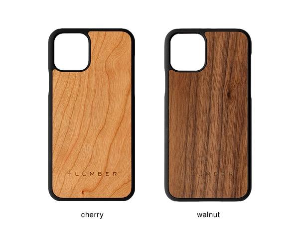 iPhone 11 Pro用ケースはチェリー・ウォールナットの天然木からお選び頂けます