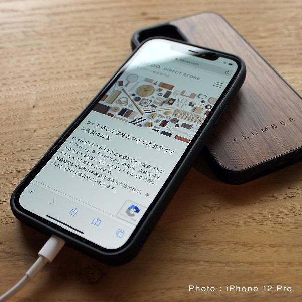 iPhone 12/12Proの美しさを損なわない、おしゃれでカッコいいデザインのiPhoneカバーです。
