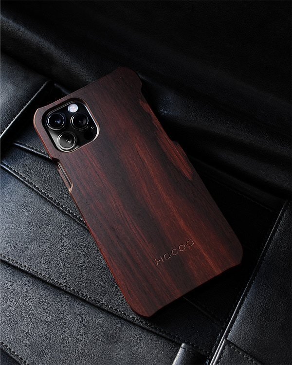 無垢のiPhone12/12プロ対応木製アイフォンケース