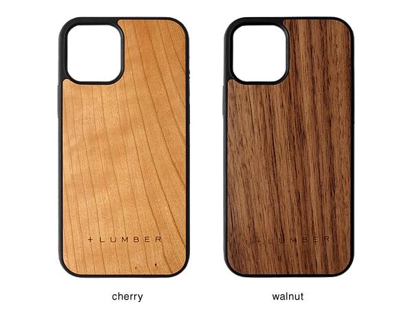 iPhone 12/12Pro用ケースはチェリー・ウォールナットの天然木からお選び頂けます