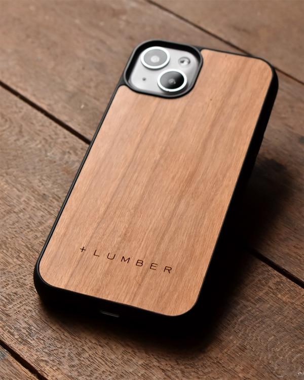 ハードケースと天然木を融合したiPhone 13専用木製ケース