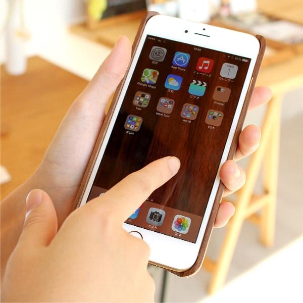 iPhone6Plusに対応した木製アイフォンケース