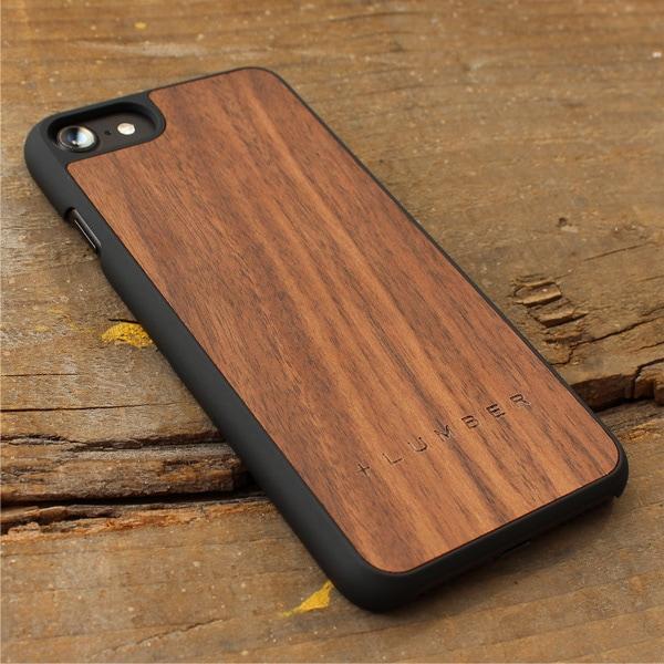 丈夫なハードケースと天然木を融合したiPhone7専用木製ケース