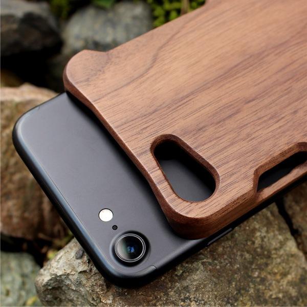 iPhone8に対応した木製アイフォンケース