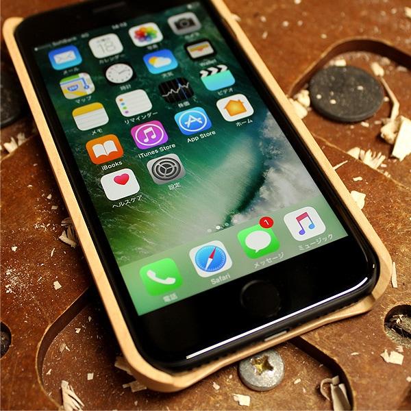 iPhone8/7に対応した木製アイフォンケース