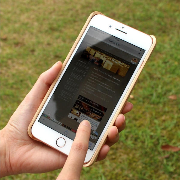 iPhone8/7 Plusに対応した木製アイフォンケース