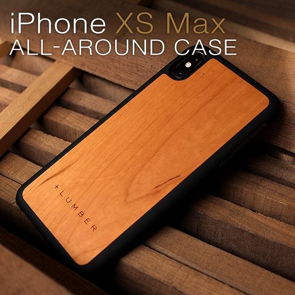 天然木を融合したiPhone XS Max専用ハードケース