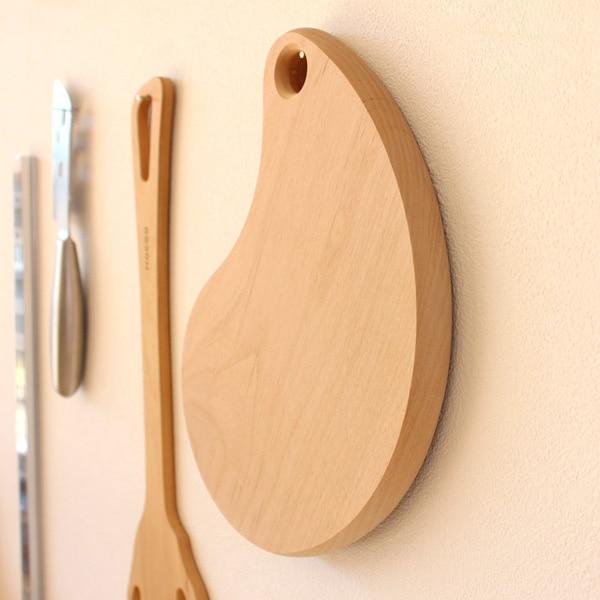 豆の形をしたかわいい木製まな板