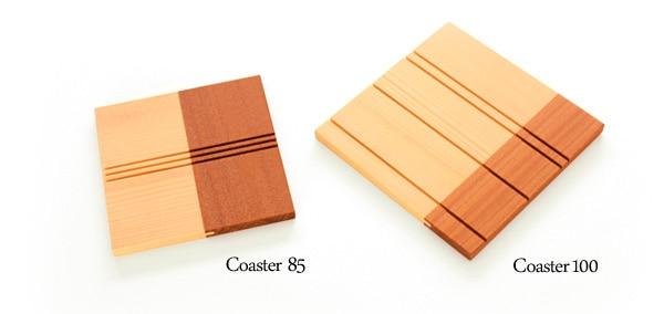 北欧風のおしゃれな木製コースター