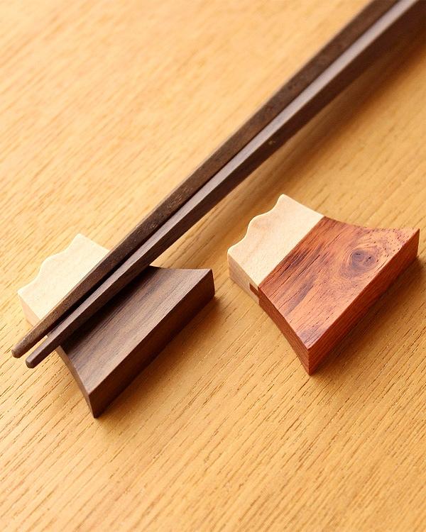 世界遺産である富士山に見立てた箸置き「富士山箸置き」