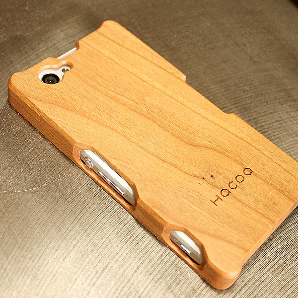 木製スマートフォン Xperia Z1f用 チェリー