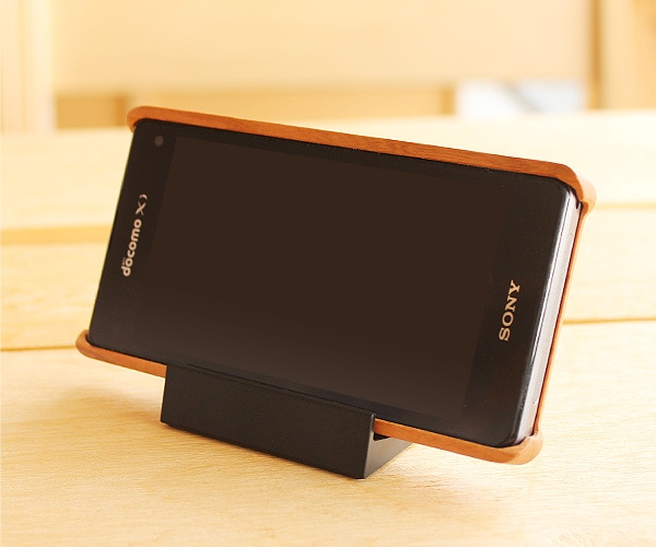 木製スマートフォンケース Xperia Z1f