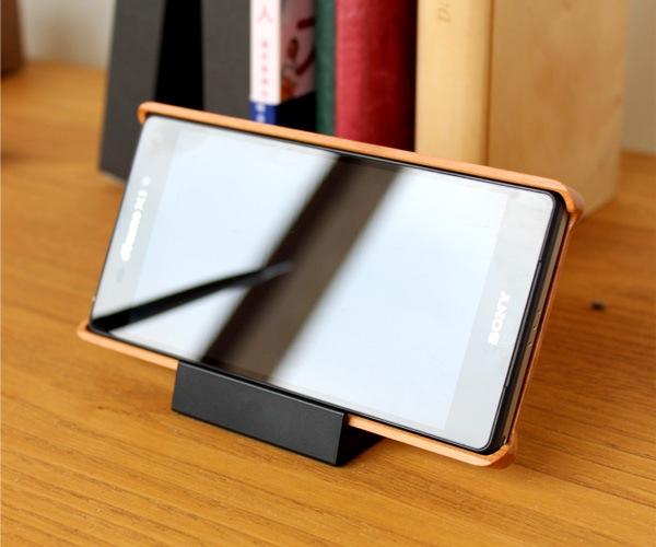 木製スマートフォンケース Xperia Z2