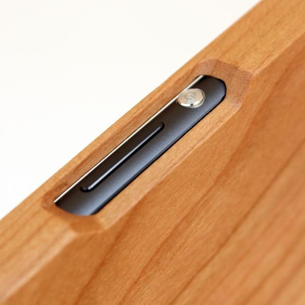 木製スマートフォン Xperia Z3用 ウォールナット