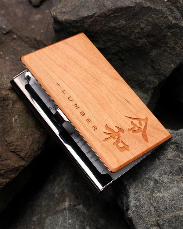 【令和・平成】元号を刻印した木製名刺入れ・カードケース「CARD CASE」平成の思い出に、令和を記念して