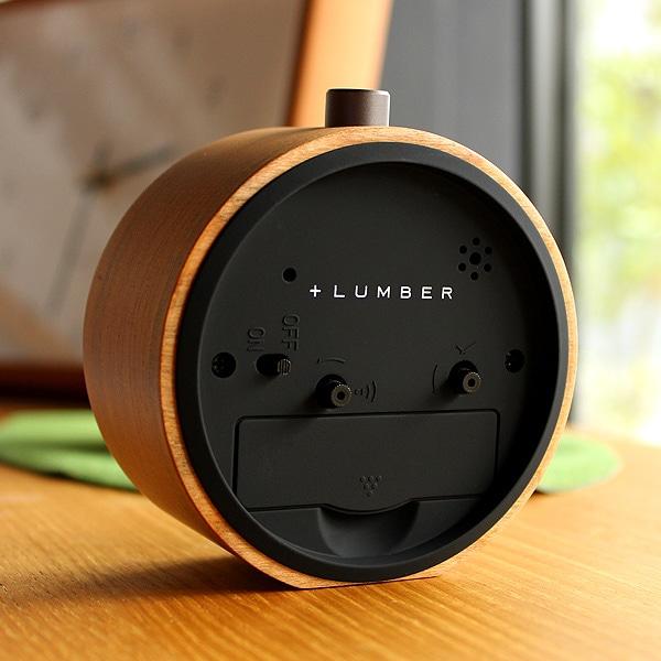 アラーム機能・スヌーズ機能・ライト機能がついています、単3型電池1本で駆動。