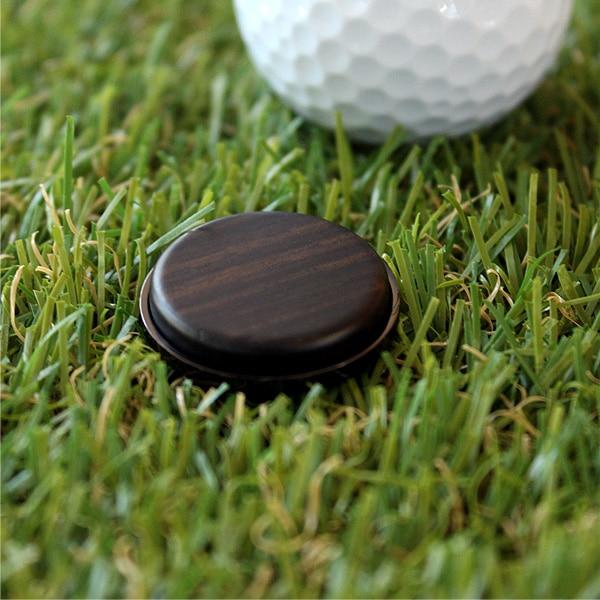 【プレミアムモデル】木製ゴルフマーカー・ボールマーカー「Golf Marker」黒檀はこちら