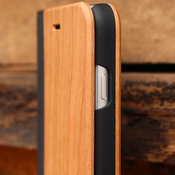 手帳型なので液晶面もしっかりガード、扱いやすいiPhoneケースです
