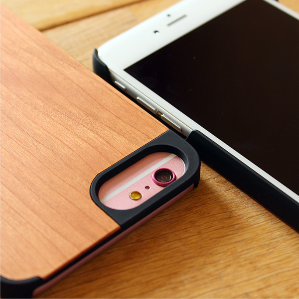 iPhone6 Plus/6s Plusにも対応の木製ケース