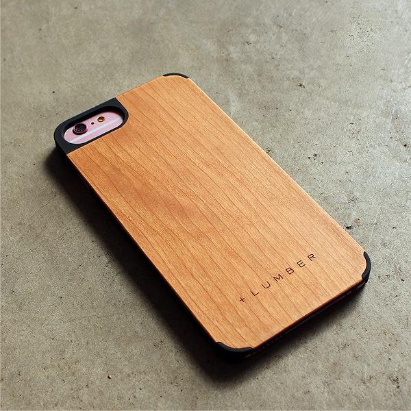 天然木を融合したiPhone6PLUS専用のおしゃれなハードケース