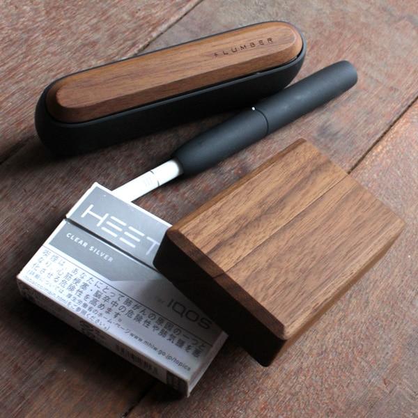 【ノーマルモデル】IQOS3/IQOS3 DUO「木製ドアカバー」「ヒートスティックケース」ギフトセット