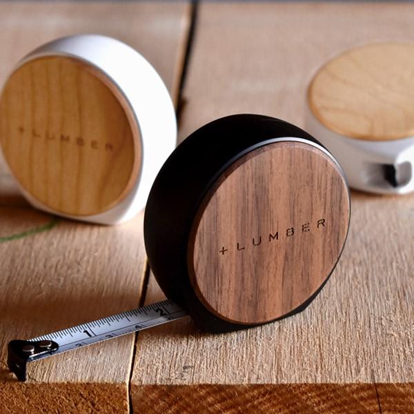 質感が心地良い木製メジャー・巻尺「MESURE 3.5M」