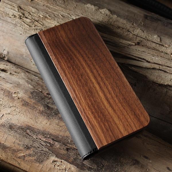 機種を選ばない木製マルチスマホケース(チェリー・ウォールナット)