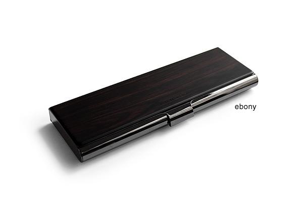 プレミアムモデル、黒檀の筆箱