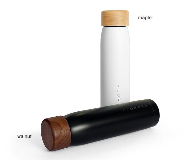 メープル・ウォールナットの水筒