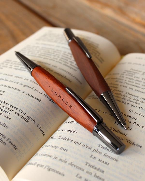 使う度に艶が出る木製ボールペン